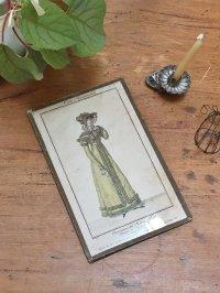 フランス 貴婦人のプリント画