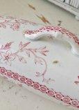 画像7: お花柄が大人っぽい 蓋付陶器製コーム入れ