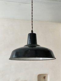 フランス ホーロー製ランプ